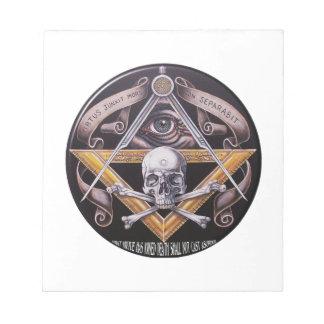 Masonic Virtue Notepads