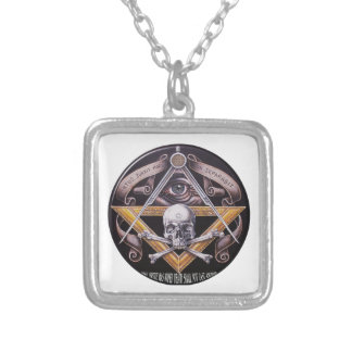 Masonic Virtue Silver Plated Necklace