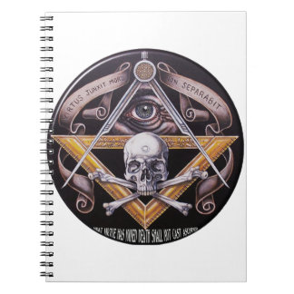 Masonic Virtue Spiral Notebook