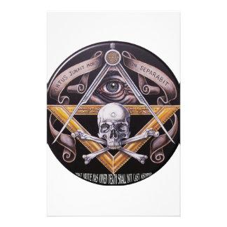 Masonic Virtue Stationery