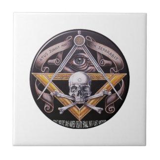 Masonic Virtue Tile