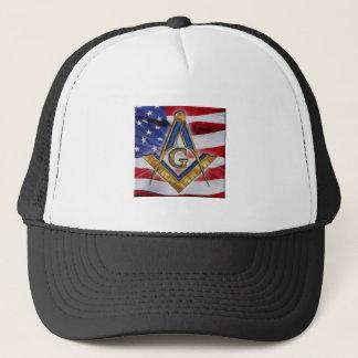 masonicflag trucker hat