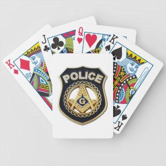 masonpolicce poker deck