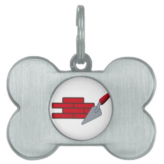 Masonry Logo Pet ID Tag