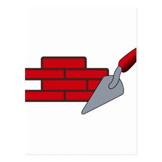 Masonry Logo Postcard