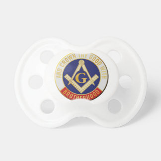 Masons Brotherhood Pacifiers