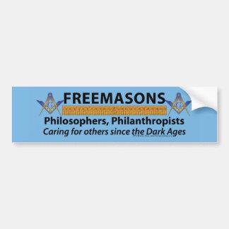 Masons Care Bumper Sticker