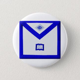 Masons Chaplain Apron 2 Inch Round Button