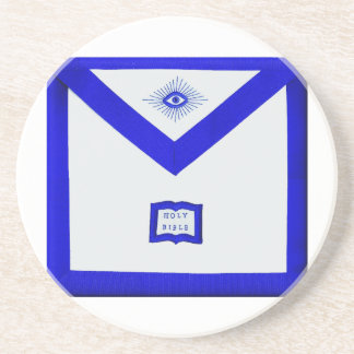 Masons Chaplain Apron Coaster