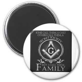 Masons Family 2 Inch Round Magnet
