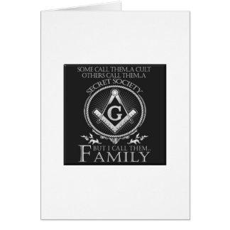 Masons Family Card