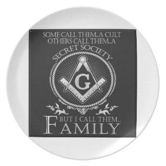 Masons Family Plate