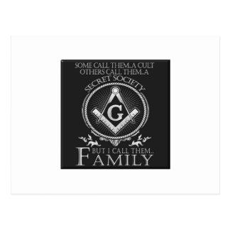 Masons Family Postcard
