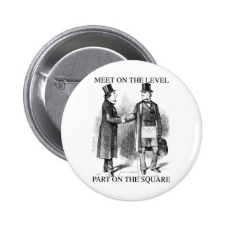 Masons Meeting 2 Inch Round Button