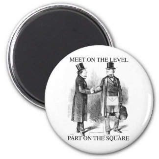 Masons Meeting Fridge Magnets