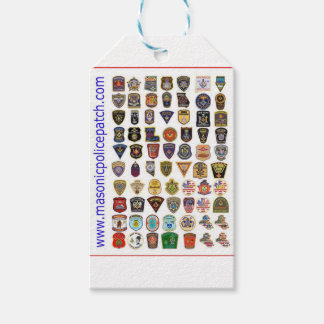 masons pack of gift tags