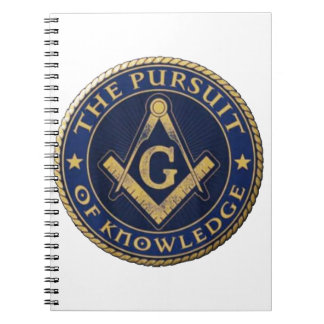 Masons The Pursuit of Knowledge Notebooks
