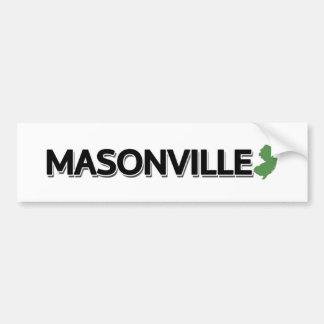 Masonville, New Jersey Bumper Sticker