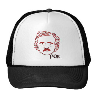 Masque of the Red Poe Trucker Hat