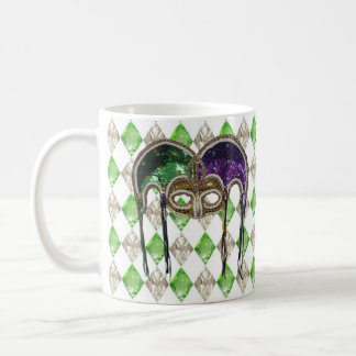 Masque une Paillette Coffee Mug
