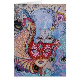 Masquerade 1 card