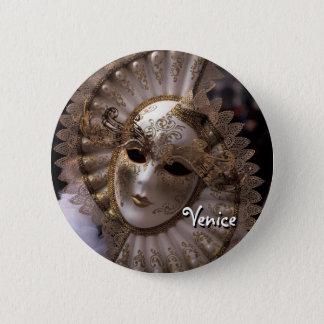 Masquerade 2 Inch Round Button