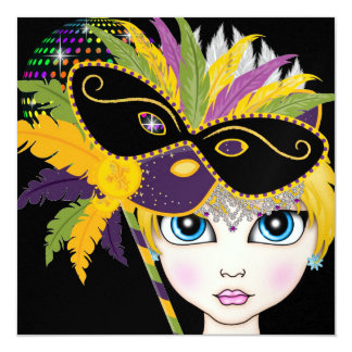 Masquerade Ball / Festival / Costume Party - SRF Card