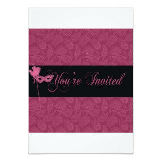 Masquerade ball invite 2