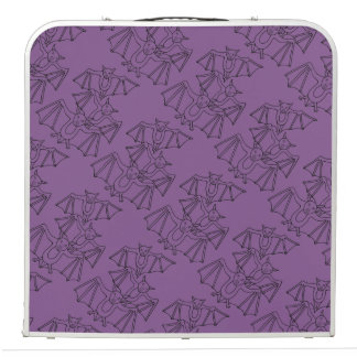 Masquerade Bats Line Art Design Pong Table