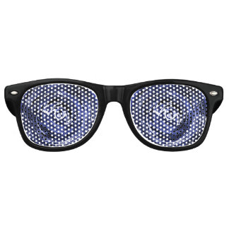 Masquerade Blue Eyes Retro Sunglasses