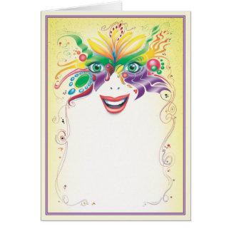 Masquerade © card
