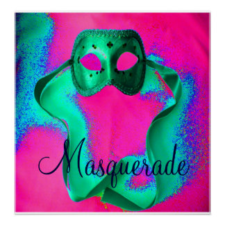 """Masquerade I"" Poster - Customizable"