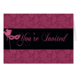 Masquerade Invitation - 2