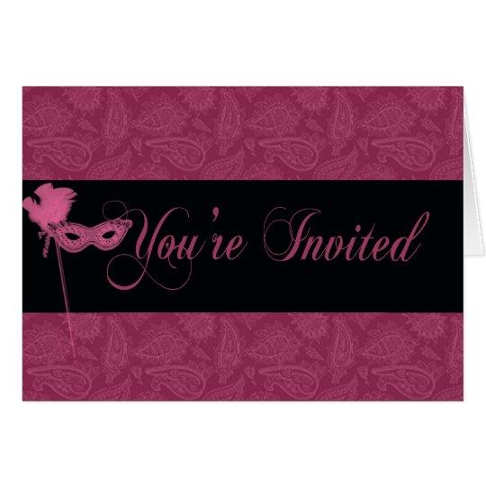 Masquerade Invitation - 2