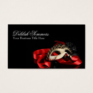 Masquerade Mask Business Card