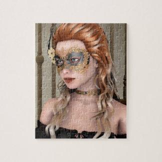 Masquerade Mask Jigsaw Puzzle