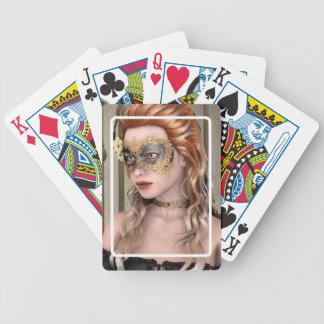 Masquerade Mask Poker Deck