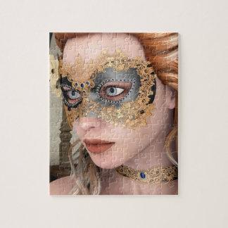 Masquerade Mask Puzzle