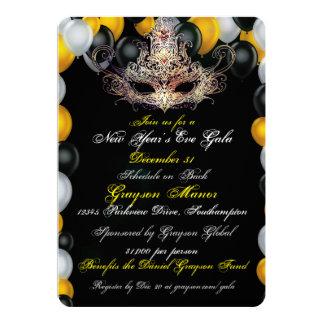 Masquerade New Year's Eve Gala Invitation
