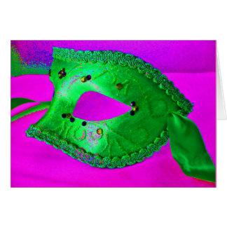"""""""Masquerade Party"""" Card - Customizable"""