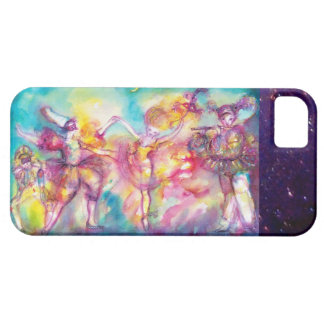 MASQUERADE PARTY,Mardi Gras Masks,Dance,Music iPhone 5 Case