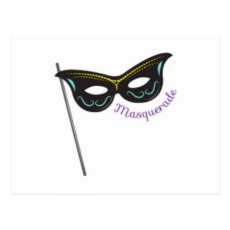 Masquerade Post Card