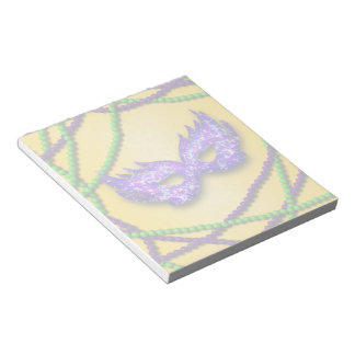 Masquerade Purple Mask Notepad