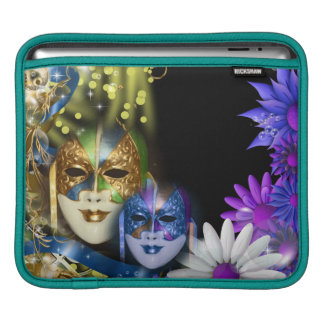 Masquerade quinceanera Venetian masks Sleeves For iPads