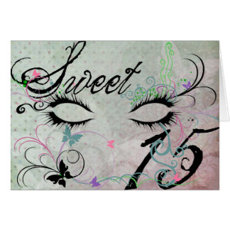 Masquerade Sweet 15 Invitation Greeting Card