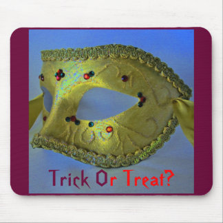 """""""Masquerade"""" Trick Or Treat Mousepad- Customizable Mouse Pad"""