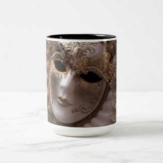 Masquerade Two-Tone Coffee Mug
