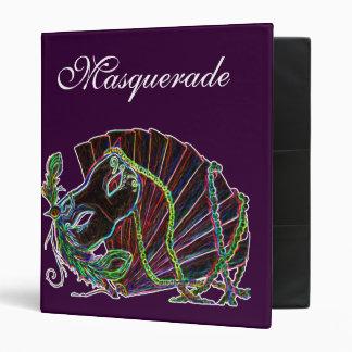 Masquerade Vinyl Binders