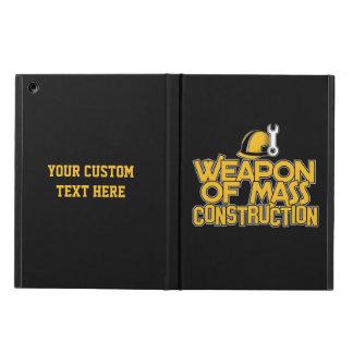 Mass Construction custom cases iPad Air Covers