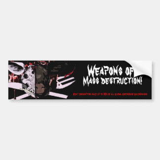 Mass Destruction Bumper Sticker
